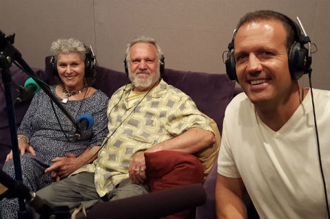 Alice and Richard Matzkin being interviewed on the Life Changes Network radio show