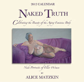 Naked Truth calendar - front cover